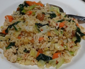 Fried rice 20131212